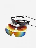 Очки Oakley 300, сменные линзы 5 шт (KTF)