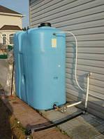 Как вода попадает в систему полива?