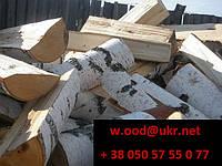Дрова колотые из твердых пород дерева (тополь, акация)