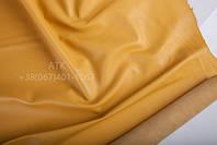 Кожа одежная наппа рапсово-желтый