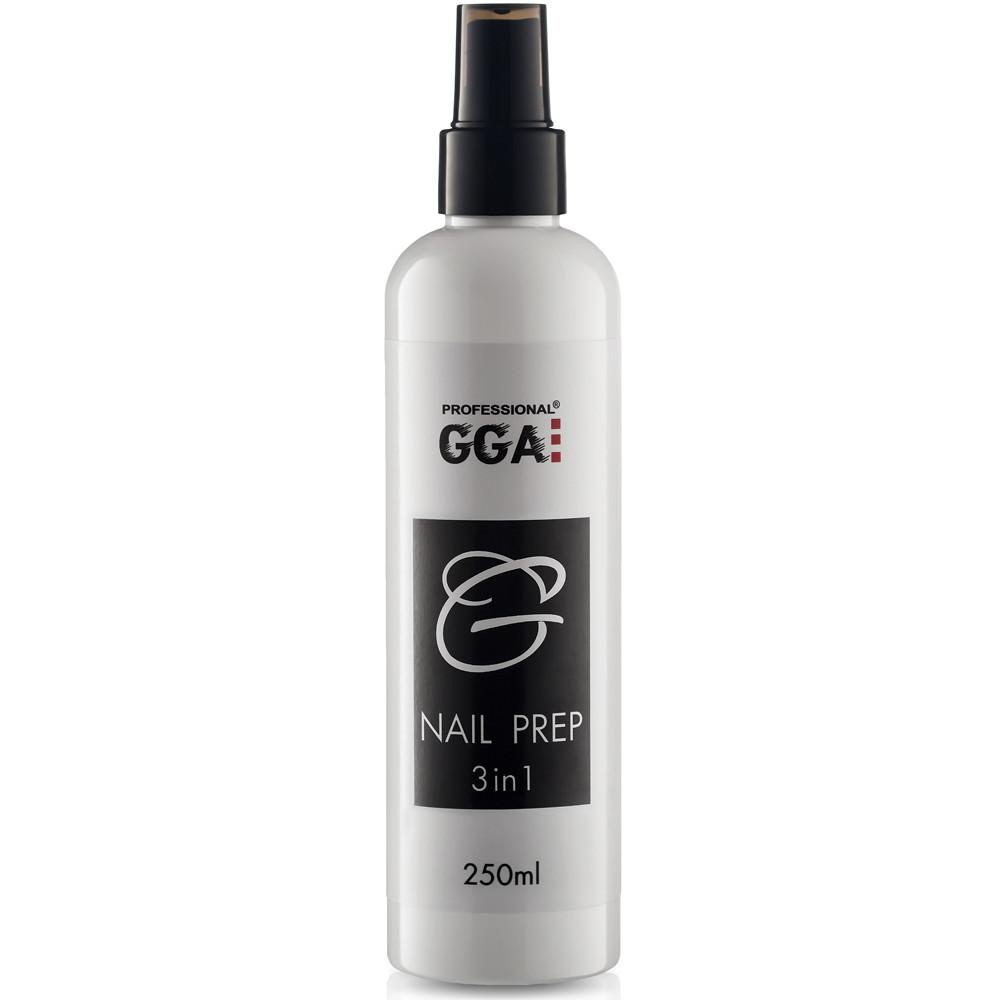 Средство Nail Prep GGA : обезжириватель,снятие липкости, антисептик
