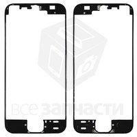 Рамка крепления дисплея для мобильных телефонов Apple iPhone SE, черная