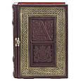 Кожаная Книга-бар 539-07-02, фото 4