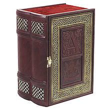 Кожаная Книга-бар 539-07-02