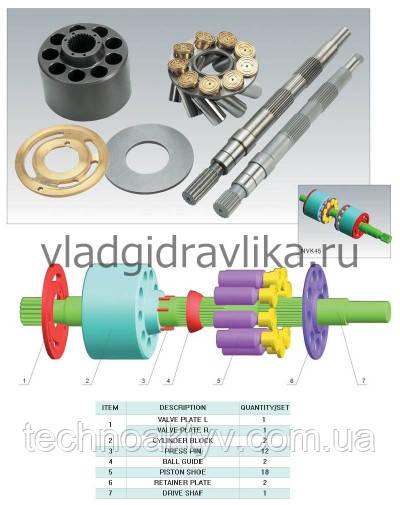 Аксиально–поршневой насос Kawasaki NVK45