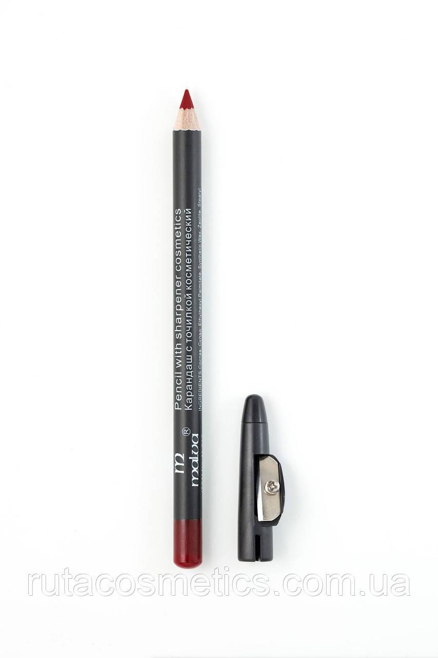 Malva cosmetics карандаш с точилкой 15