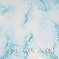 Мрамор голубой 250х6000х8мм. Пластиковые панели (ПВХ) РИФ
