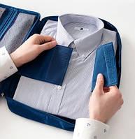 Органайзер для рубашек и блузок синий