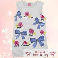 Турецкая борцовка белого цвета для девочек от 5 до 8 лет (5471-2)