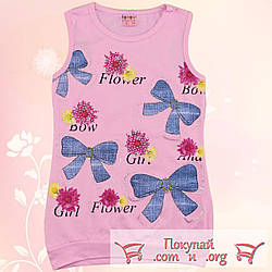 Турецкая борцовка розового цвета для девочек от 5 до 8 лет (5471-3)