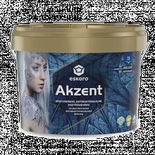 Akzent 2,7 л - Особливо міцна антибактеріальна вологостійка напівглянсова фарба інтер'єрна