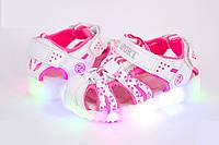 Босоножки детские LED