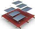 Комплект креплений для солнечных панелей на скатную крышу (на 20 панелей)
