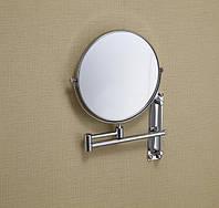 Увеличительное косметическое зеркало диаметр 15 см