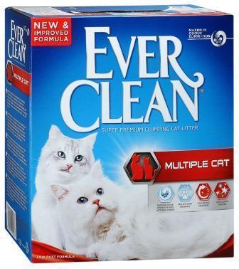 Ever Clean Мультикет 6л- наполнитель для кошачьего туалета