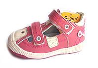 Босоножки, сандалии кожаные для девочки р.19-24 ТМ Clibee (Польша)