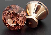Ручка мебельная с кристаллом 30 мм (Уценка товара), фото 1