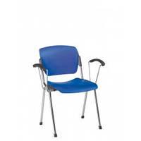 Офисный стул для посетителей Эра ERA plast arm chrome NS