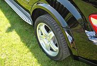 Расширители фендеры на арки Mercedes W164 стиль ML 63 AMG