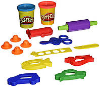 Игровой набор со скалкой и ножницами Play-Doh Rollers, Cutters and More Playset!