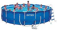 Круглый каркасный бассейн Intex  549х122 см (28252)