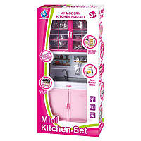 Кухня розов 17*8*36 см 5603, пластик