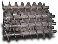 Шнековый (винтовой) конвейер 1 - 100 т/ч из нержавеющей стали