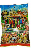 Жевательная резинка Сrazy tatoo Миньоны 50 шт (Китай)