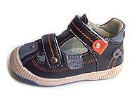 Босоножки, сандалии кожаные для мальчика р.19-24 ТМ Clibee (Польша)
