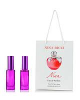 Парфюм в подарочной упаковке Nina Nina Ricci КРАСНОЕ ЯБЛОКО  40 мл(2шт по 20 мл)