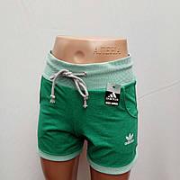 Шорты женские спортивные трикотажные adidas.