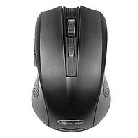 Мышь Gemix GM200 1200 DPI беспроводная, Black, Мини-USB ресивер
