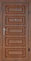 Двери входные МДФ/МДФ Метр Дор Регион MD 024, 860*2050, L, (венге) 1замок