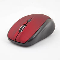Мышь Gemix GM510 800-1600 DPI беспроводная, Red, Мини-USB ресивер
