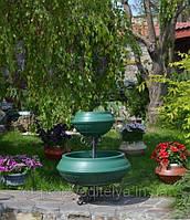 """Двухуровневая цветочная пирамида Ф750 цвет """"Зеленый"""", фото 1"""