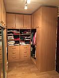 Мебель для гардеробной комнаты под заказ, фото 2