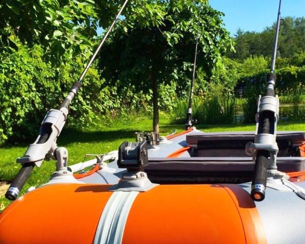 держатель спиннинга - держатель удилища - держатель спиннинга для надувной лодки