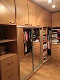 Мебель для гардеробной комнаты под заказ, фото 3