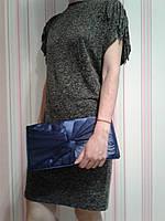 Элегантный синий клатч весна-лето 2017