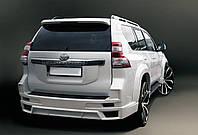 Хром накладка на крышку багажника Toyota Prado 150