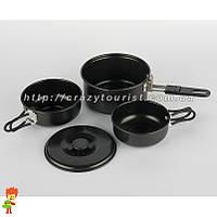 Компактный набор туристической посуды 3 в 1 Easy Camp NS- 245