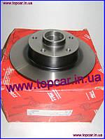 Тормозной диск задний без подшипника  Renault Megane III 08-   TRW Германия DF6182