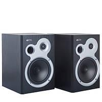 Колонки 2.0 Gemix AF-51 Black / 2x30Вт / 40-20000Hz / МДФ / RCA / управление сзади