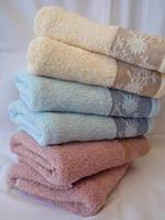 Лицевое махровое полотенце опт