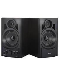Колонки 2.0 Gemix TF-10 Black / 2x5Вт / 20-20000Hz / МДФ / mini-jack 3.5, RCA / управление спереди