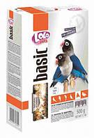 LoLo Pets basic for LOVEBIRDS Полнорационный корм для неразлучников 1кг (LO-72602)