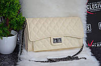 Шикарные сумки Chanel (Шанель) молочная.