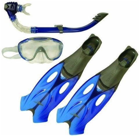 Набор для плавания маска + трубка + ласты SPEEDO GLIDE M+R+P 39-40