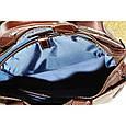 Кожаная мужская сумка Mk39.1 коричневая, фото 8