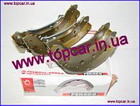Тормозные колодки барабанные задние 229*42   Renault Kangoo 98-  Ferodo Германия FSB577